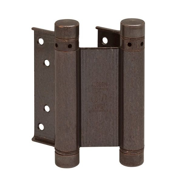 ALDEGHI 101AB075 дверная петля пружинная 75x28x34 мм, цвет бронза