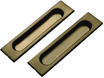 Ручки для раздвижных дверей TIXX SDH 601 AB античная бронза