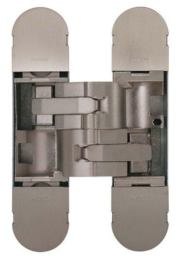 Дверная петля скрытой установки CEAM с 3D регулировкой 1230S NKS матовый никель (50-70кг)