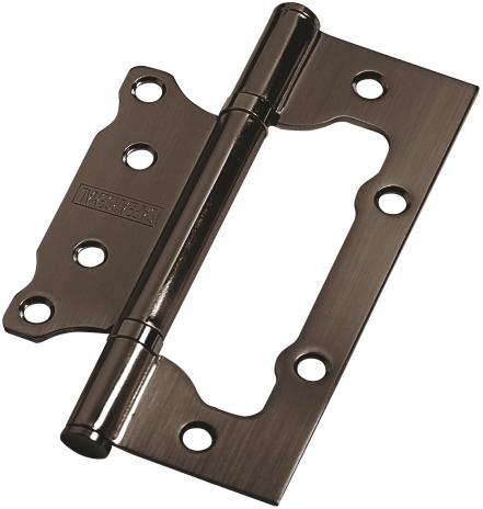 Дверная петля без врезки PALIDORE 125*75*2,5 2ВВ ВН ARSENAL черный никель