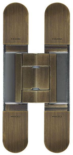 Скрытая петля CEAM с 3D регулировкой 1430 BRS матовая бронза (40-70 кг)