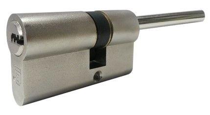 Цилиндровый механизм со штоком Guardian (Гардиан) GB 82 мм (61/21/70SH) Ni никель 5 кл.