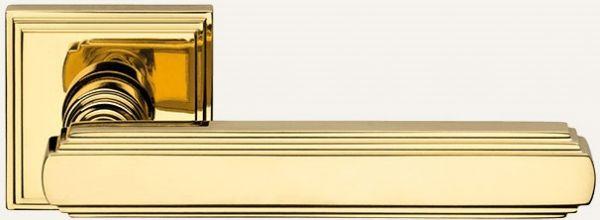 """Дверная ручка LINEA CALI """"GLAMOUR"""" 1555 RO 16 OZ полированное золото"""
