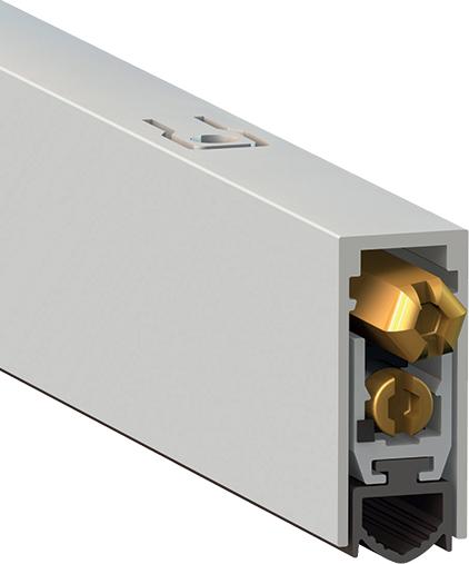 Автопорог - антипорог дверной Comaglio 1712/1000 мм регулировка 2-ух уровневая