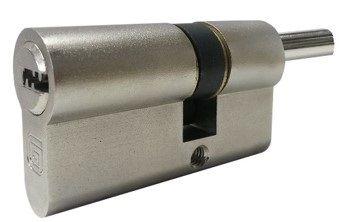 Цилиндровый механизм с вертушкой Guardian (Гардиан) GB 102 мм (51/51V) Ni никель 5 кл.