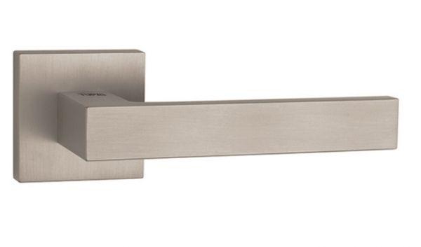 Дверная ручка Tupai Square 2275 Q матовый никель (142)