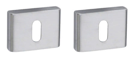 Накладка под ключ FIMET 239 PAT матовый хром F05