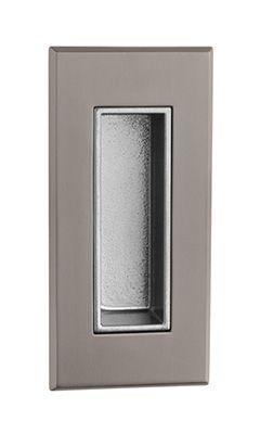 Ручка для раздвижных дверей Tupai 2650 матовый титан (141)