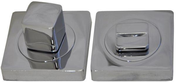 Фиксатор сантехнический на квадратном основании 2 BK CP полированный хром