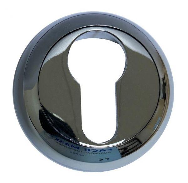 Дверная накладка под цилиндр Vantage ET CP хром