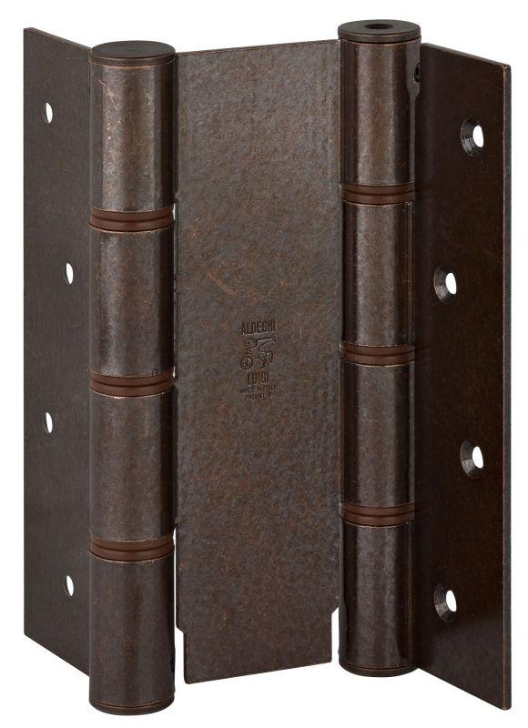 Дверная петля пружинная ALDEGHI CODE 87 AB 155-40 двусторонняя 155x40 (бронза)