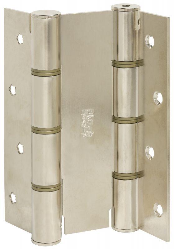 Дверная петля пружинная ALDEGHI CODE 87 AN 155-40 двусторонняя 155x40 (никель)