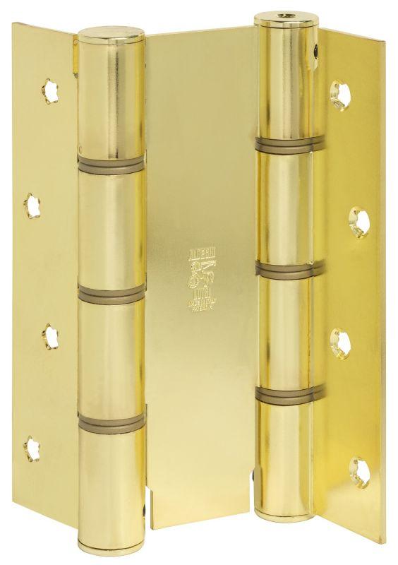 Дверная петля пружинная ALDEGHI CODE 87 AO 155-50 двусторонняя 155x50 (матовая латунь)