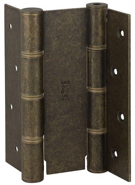 Дверная петля пружинная ALDEGHI CODE 87 OA 155-50 двусторонняя 155x50 (античная бронза матовая)