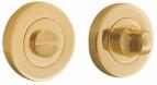 Завертка на круглом основании ORO&ORO BK 15 GP латунь блестящая