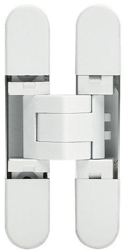 Дверная петля скрытой установки Ceam с 3D регулировкой 929 BIA белый (12-20 кг)