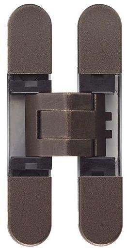 Дверная петля скрытой установки Ceam с 3D регулировкой 929 BRO бронза (12-20 кг)
