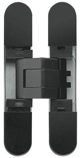 Дверная петля скрытой установки Ceam с 3D регулировкой 929 VNO черный (12-20 кг)