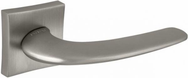 Дверная ручка ORO&ORO 932-13 на квадратном основании CP хром блестящий