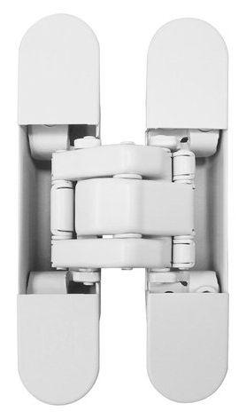KUBICA K8060 ATOMIKA SLIM HD DXSX, BI петля скрытая универсальная (белый) 60 kg