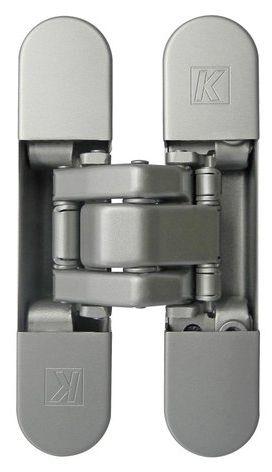 KUBICA K8060 ATOMIKA SLIM HD DXSX, CS петля скрытая универсальная (матовый хром) 60 kg