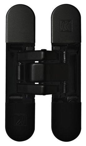 KUBICA K8060 ATOMIKA SLIM HD DXSX, NO петля скрытая универсальная (черный) 60 kg