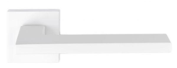 """Дверная ручка Extreza Hi-Tech """"AZIMUT"""" (Азимут) 102 R11 белый матовый F26"""