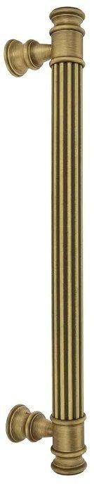 """Ручка дверная скоба Extreza """"BENITO-2"""" (Бенито) матовая бронза F03"""