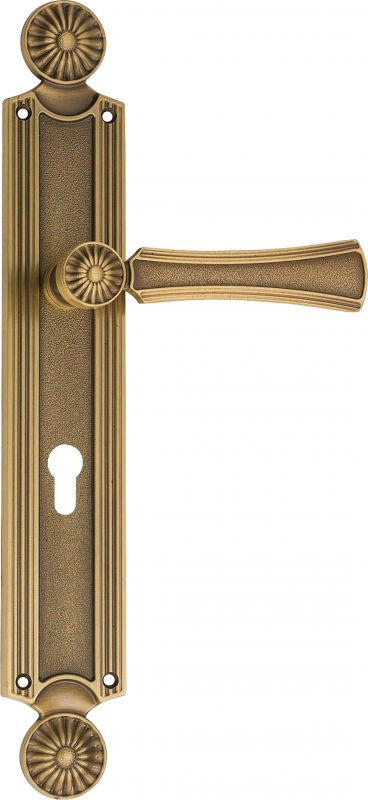 "Дверная ручка Linea Cali на планке ""DAISY"" 1070 PL PM"