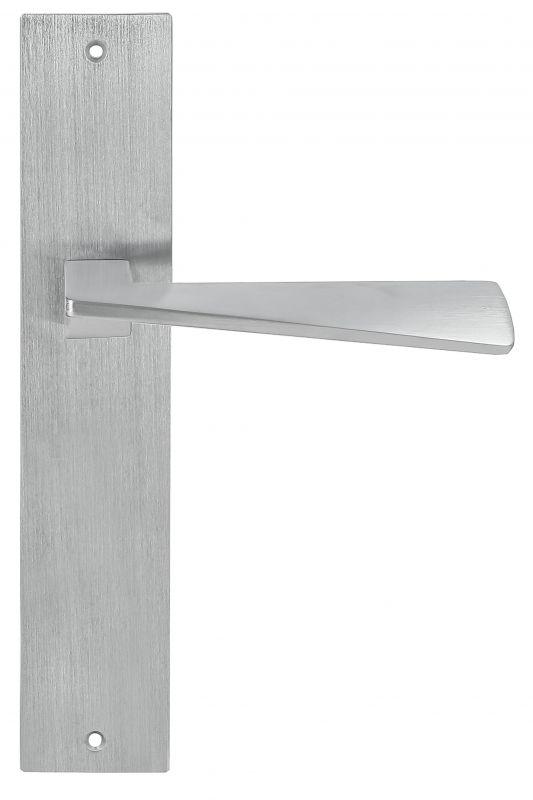 """Дверная ручка Extreza Hi-Tech """"DIA"""" (Диа) 118 на планке PL11 матовый хром F05"""