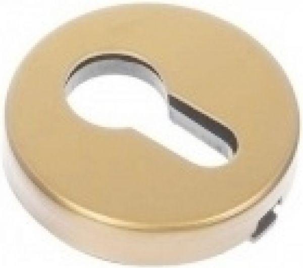 Дверная накладка под цилиндр PIRUETTE ET L14 MATTE BRASS матовая латунь