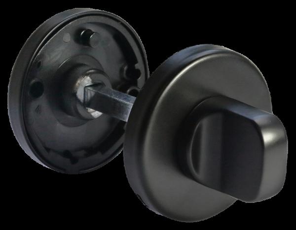 Завертка сантехническая MORELLI Luxury LUX-WC-R NERO черный