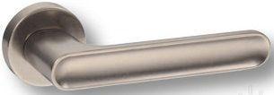 "Дверная ручка SYSTEM ""BOLIVAR"" HA123RO12 на круглой розетке AIB античное серебро"