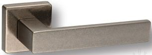 "Дверная ручка SYSTEM ""FOSIL"" HA124RO11 на квадратной розетке AIB античное серебро"