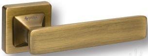 "Дверная ручка SYSTEM ""IDA"" HA125RO11 на квадратной розетке MAB бронза"