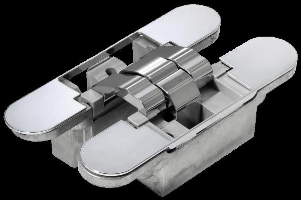 Скрытые петли MORELLI с 3-D регулировкой HH-16 PC хром