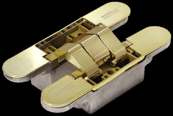 Скрытые петли MORELLI с 3-D регулировкой HH-16 PG золото