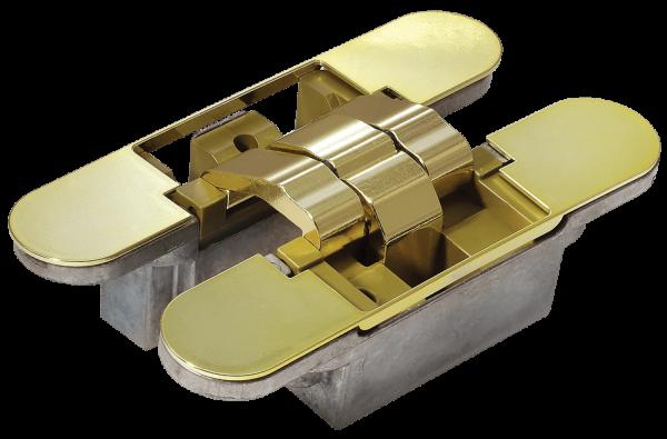 Скрытые петли MORELLI с 3-D регулировкой HH-6 PG золото