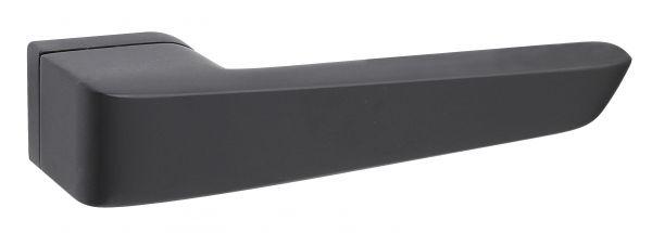 Fimet INFINITY 1501/239 дверная ручка на розетке, цвет черный F.N.O