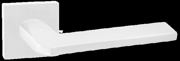 """Дверная ручка RENZ """"КЕРАСКО"""" DH 97-03 SW супер белый"""