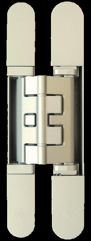 KUBICA K2460 BI петля скрытая универсальная (белый) 60 kg