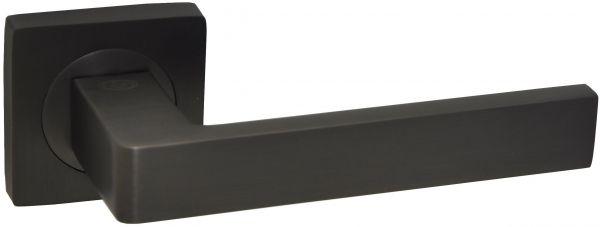 Дверная ручка на квадратной розетке LD 252 DSBN графит