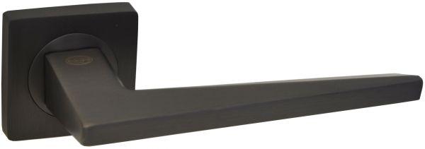 Дверная ручка на квадратной розетке LD 253 DSBN графит