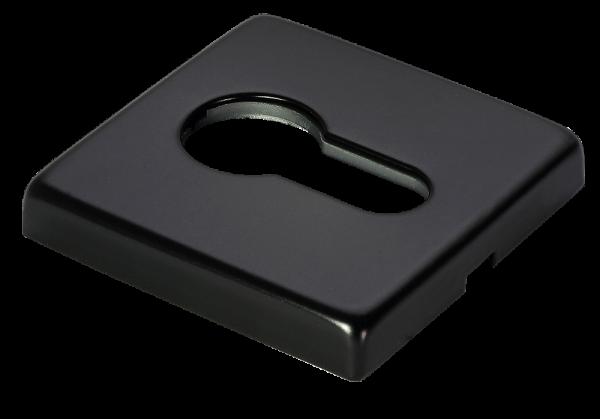 Накладки на цилиндр MORELLI Luxury LUX-KH-Q NERO черный