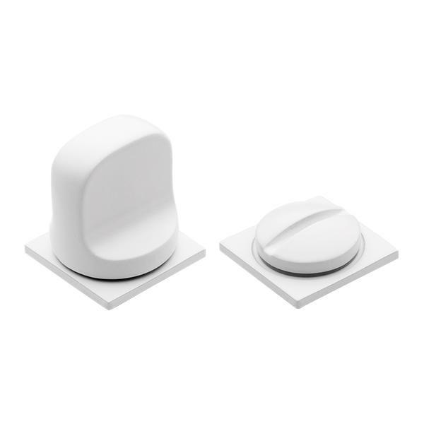 Завертка сантехническая MORELLI Luxury LUX-WC-SM BIA белый