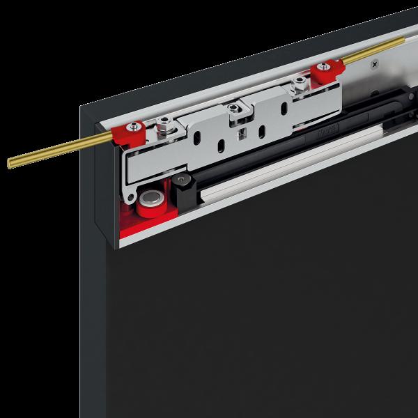 Terno Scorrevoli Magic2 раздвижная система для двери 800-1800 мм до 80 кг