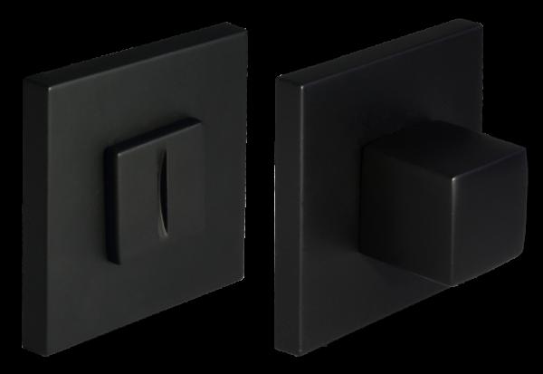 Завертка сантехническая круглая Morelli MH-WC-S6 BL черный