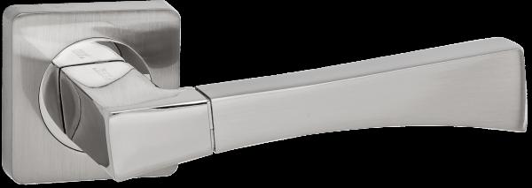 """Дверная ручка RENZ """"Отелло"""" DH 55-02 SN никель матовый"""