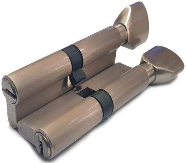 Цилиндровый механизм Vantage PC80 (30Cx50) SN матовый никель
