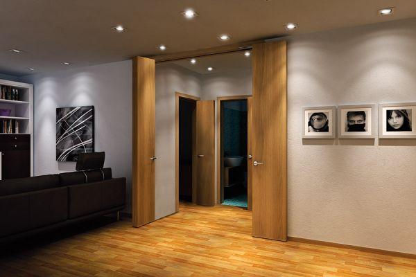 Система Compack Living LEFT 800F60SX комплект для левой одностворчатой двери, с открыванием 180°